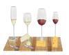 wine Cheese Sushi Plate