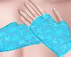 B! Blue lace glove fmb