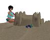 beach fun/sand castle