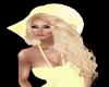 Yellow Summer Hat/Hair