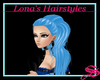 Blue Ponytail For Lovers