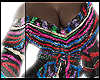 F. Stripe Sequin Blouse
