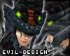 #Evil Ninja Dragon Helm