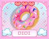 !!D Donut Bangle Left