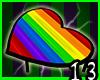 Rainbow Heart Table