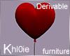 K derv anim heart ballon