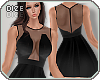 ! Fit & Flare Dress Blk