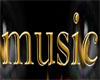 *E4U*Gold Music Sign