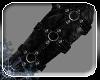 -die- m/f Fur gloves Bla