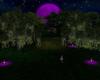 Purple Moonlight Wedding