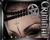Silver Satan Head Pearls
