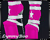 *Pink Star Boots