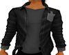 Blk/grey Jacket w/shirt