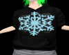 black snow flake hoodie