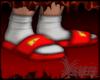 Fendi Slides Red