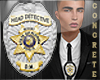 Detective Badge Custom