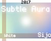 S| Subtle Aura - White