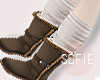 ❀ kids brown boots