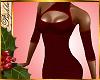 I~Sexy Red Knit Dress