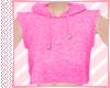 Pink Short Hoodie