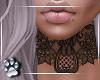 Lace Tattoo -Neck