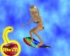 Neon Surfboard