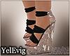 [Y] Uma black sandals