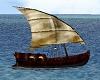 Floating Old Boat