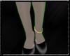 Gold Left anklet