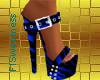 FLS Buckle Sandals - Blu