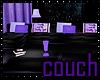 Purple BBG Couch