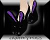 (DR) purple n black PVC