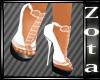 White(MKV)Heels