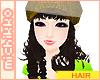 *M brunette 5 in one hat