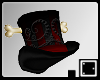 ♠ Bone Top Hat Swirly