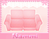 Kids scaled couch pink