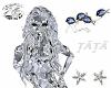 Diamond hair Emma Frost