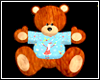 KIDS BIG TEDDY BEAR