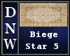 Biege Star Five Rug