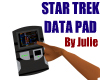 STAR TREK DATA PAD