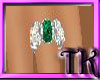 !TK!Emerald Silver Ring