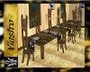 Cabin Long Dinner Table