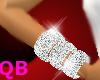 Q~R Diamond Tri Bangels