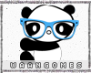 WG | Panda Sticker *2