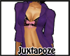 Shirt Bra Purple