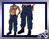 *T* Navy Blue Camos Male