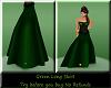 (TB) Green Long Skirt