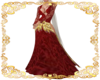 Ruby Goddess Gown
