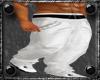 White Track Pants