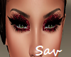 Red SparkleShadow/Lashes